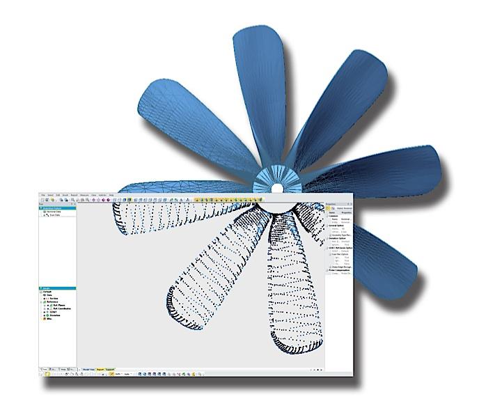 reverse engineering 3D fan